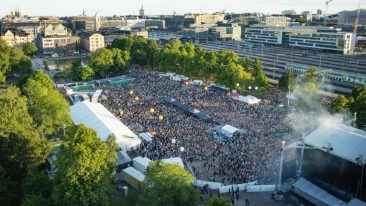 July and August were the busiest tourist months in Helsinki in 2016.