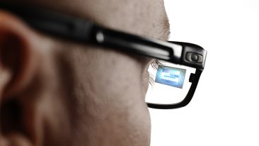 Dispelix's see-through-displays can even be integrated with the lenses of ordinary glasses.