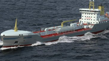 We Tech Solutions will make Ektank's chemical tankers more energy efficient and sustainable.