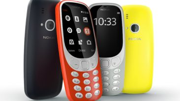 The iconic Nokia 3310 with a new twist.