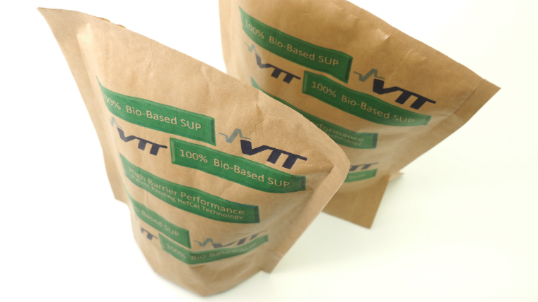 VTT's solution is an environmentally friendly option for the global food packaging industry.