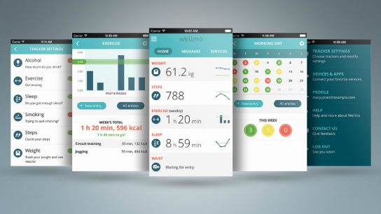 Wellmo is a cloud-based platform and mobile app.