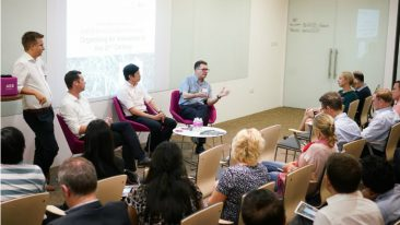 Aalto EE organised a panel discussion on innovation in the event in Singapore.