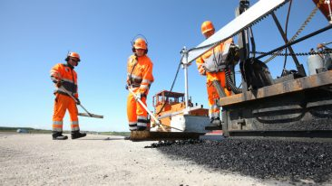 The building and infrastucture construction expert Lemminkäinen, is one of the biggest paving companies in the Nordic, Baltic and Russia area.