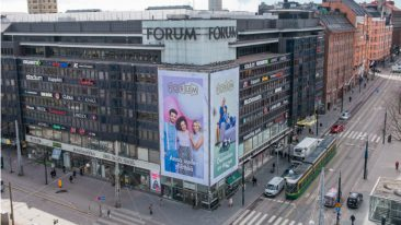 Forum is located in the very heart of Helsinki.