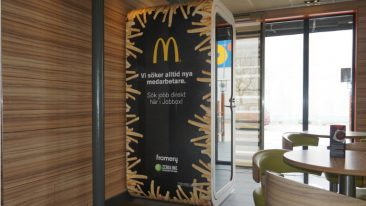 McDonald's gets creative with Framery in Sweden