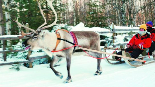 "Monarch's offering in Lapland includes things like a ""full Santa experience""."