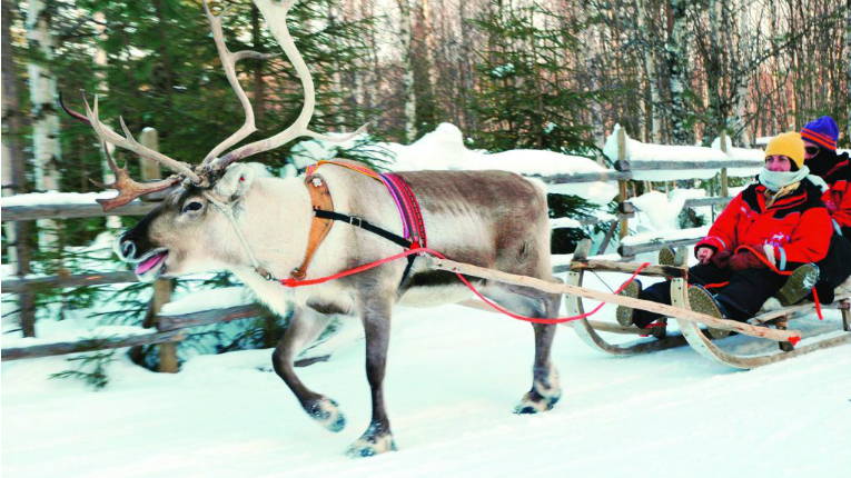 """Monarch's offering in Lapland includes things like a """"full Santa experience""""."""