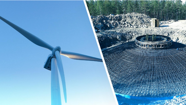 The Lehtirova wind park is estimated to be operational in December 2018.