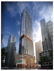The building will have 67 floors, so the KONE lifts will be in abundant use.
