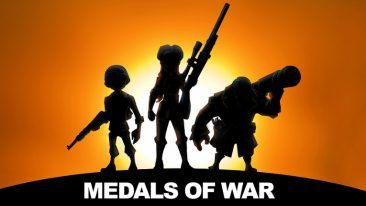 Medals of War players try to level up and be the best commander in Warland.
