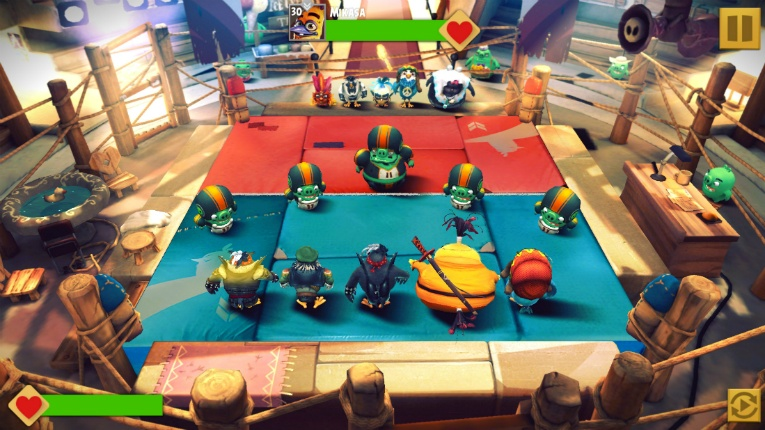 Rovio's Angry Birds continue their battle against nasty pigs.
