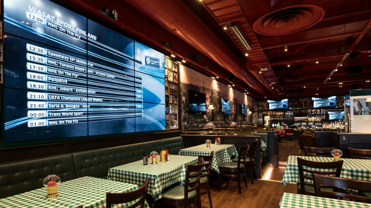 Seasam has been responsible for, for example, delivering O'Learys restaurants digital displays.