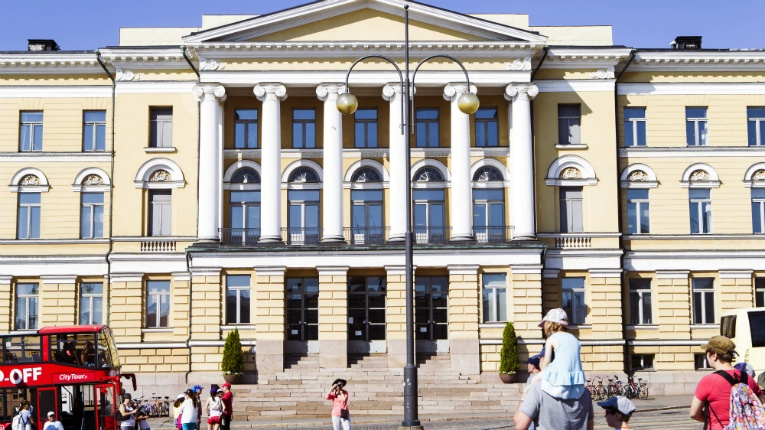 The main building of the University of Helsinki is located in the heart of the city. A spot in the world top 100 just escaped the university coming in on 102nd place this year.