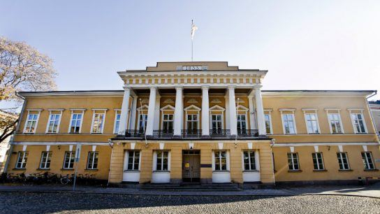 Åbo Akademi is one of the four Finnish higher learning institutions that together form Finland University.