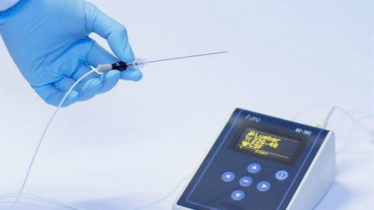 """Injeq IQ-Needle and BZ-301 analyser promise to enable """"a smoother and faster puncture""""."""