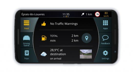 Carrio is an infotainment software made by Ficonic Solutions that uses the Android operating system to improve road safety worldwide.