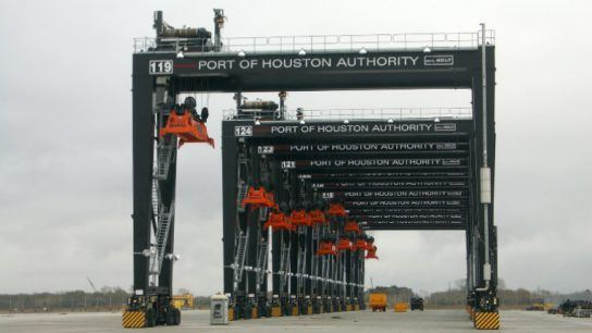 Port Houston is the largest port on the Gulf Coast.