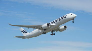 On the way up: strong growth continues for Finnair.