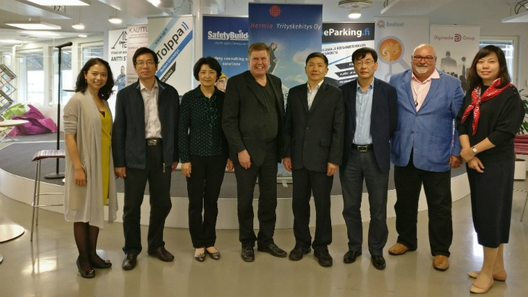 A collaboration agreement was signed in late July between Hermia Business Development and Jiangsu Association for Science and Technology.
