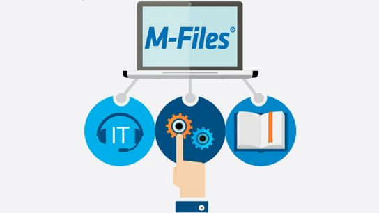 Utilising Apprento's artificial intelligence, M-files will offer intelligent and automatised data management.