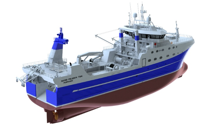 The 80-metre-long fishing trawlers will be powered by Wärtsilä and reinforced to Ice3 class, so they can brave the icy Barents Sea and North Atlantic.