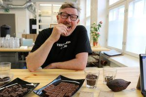 Peter Westerlund fulfilled his dream of making bean-to-bar chocolate and won a price for his Madagascar milk chocolate.