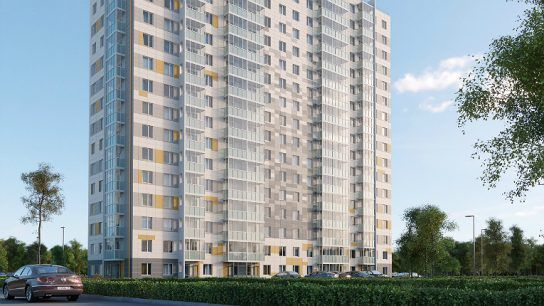 The apartment building in Lytkarino, Moscow, will house approximately 200 apartments as well as business premises.