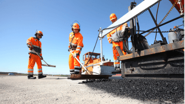 Lemminkäinen specialses in complex infrastructure construction and building construction in Northern Europe and is one of the largest paving companies in its market.