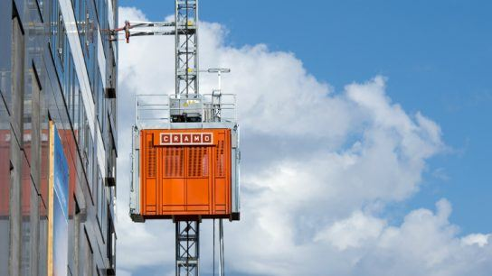 Need an industrial lift? Cramo boasts a network of 320 depots filled with more than 230 000 different types of industrial equipment.