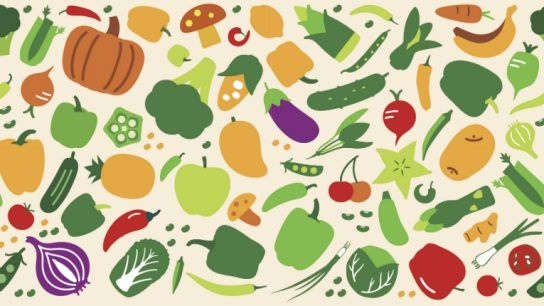 Crunch crunch! Health, environment and animal welfare are amongst the reasons that make people go for more veg, less meat.