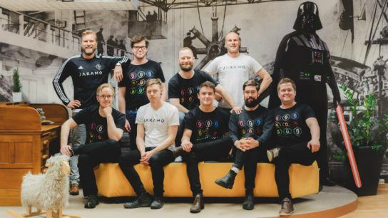 The Force is strong with these ones. Jakamo has a 10-person team spread out across four Finnish cities. Next up is opening its first international office.