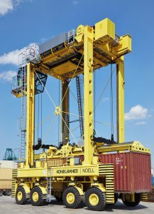 Antwerp Terminal Services NV has experienced an increasing need for new machines.