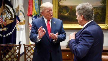 Finland's cyber security expertise received praise from President Trump during President Niinistö's state visit in Washington on 28 August.