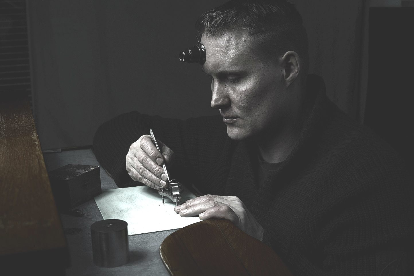 Independent watchmaker Antti Rönkkö makes ultra-limited-edition wristwatches by hand in his workshop in Espoo, Finland.