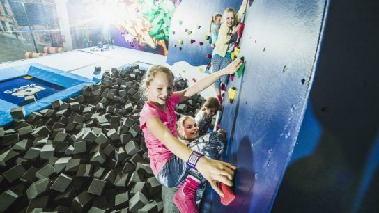 SuperPark's activities are designed to attract people of all ages.