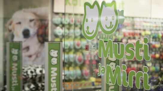 In Finland, Musti Group stores go by the name Musti ja Mirri, Musti being a traditional name for a dog and Mirri referring to a cat.