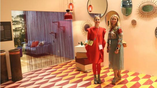 Susanna Björklund (left) and Sisse Collander take design to the next level with 'Signals': a collection of themed rooms that each have a different approach to lifestyle.