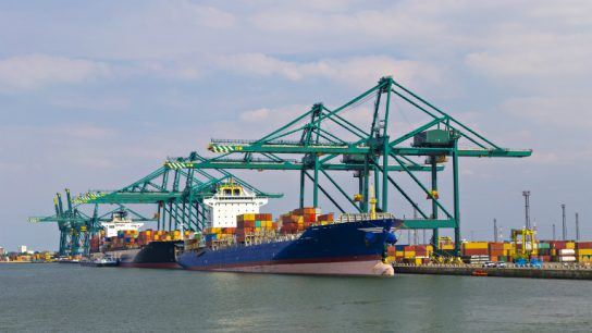 Antwerp is one of the most important ports for Konecranes.