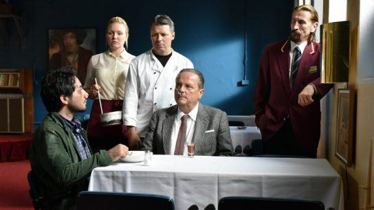 Kaurismäki's deadpan comedy 'Toivon tuolla puolen' tells the tale of a Syrian refugee who ends up in Finland, where he crosses paths with a restaurateur, former traveling salesman and real character.