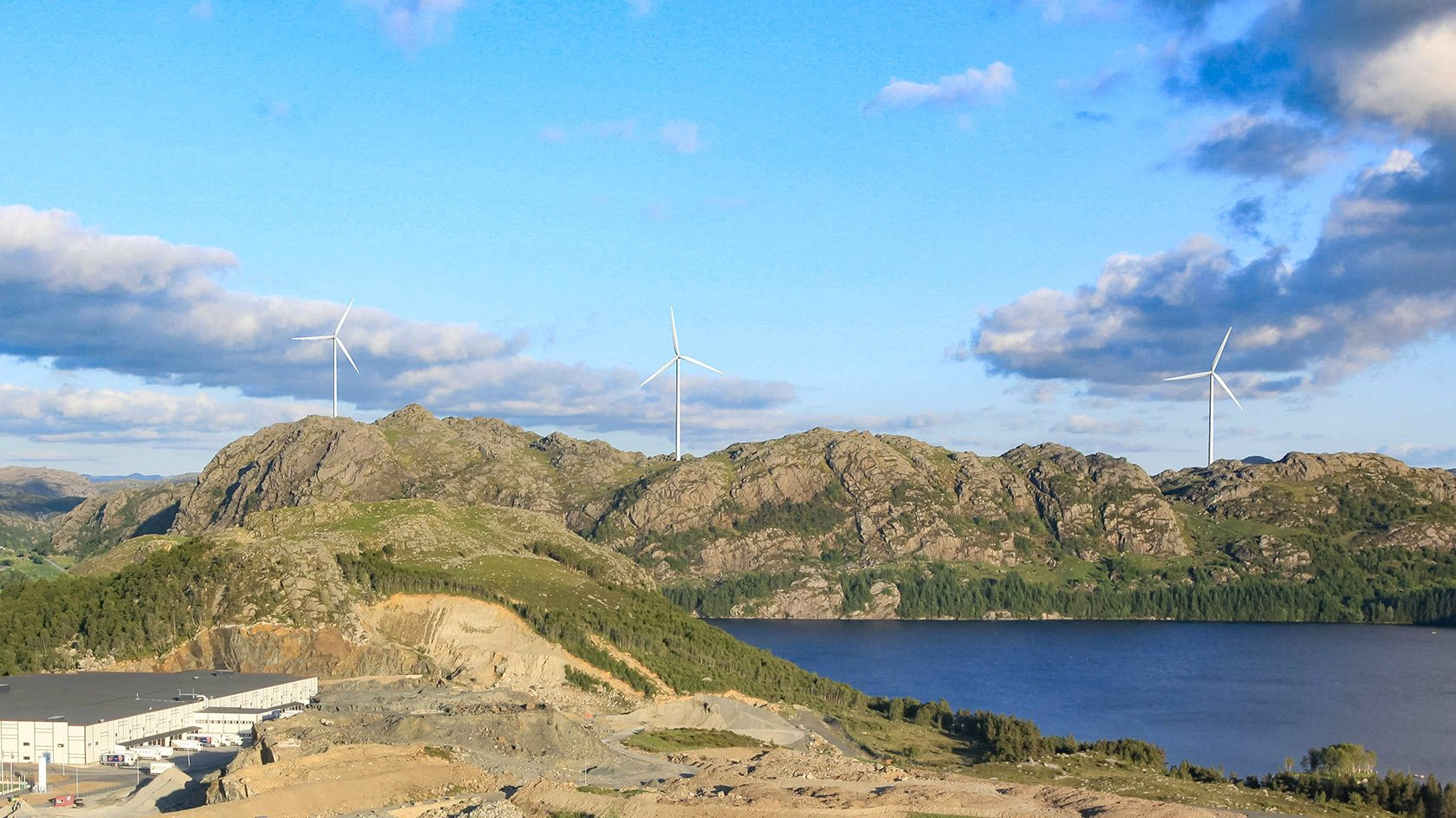 Peikko's rock foundation solutions is tailored to the project's need. Tindafjellet wind park will be built with both components and design by Peikko.
