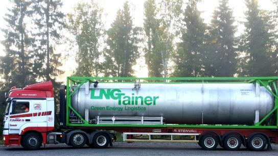 LNGTainer's first LNG container has been years in the making, but now the company has found the way for transporting natural gas cost and energy efficiently even to remote areas.