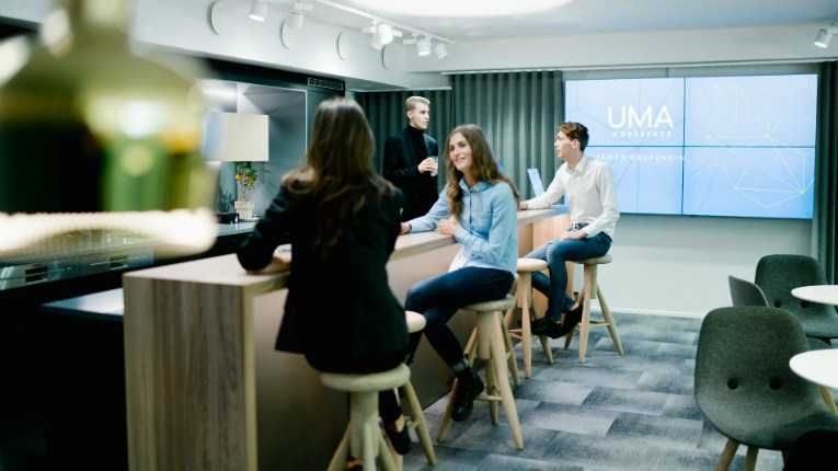 Technopolis created UMA Workspaces to enhance mobility, flexibility and networking.