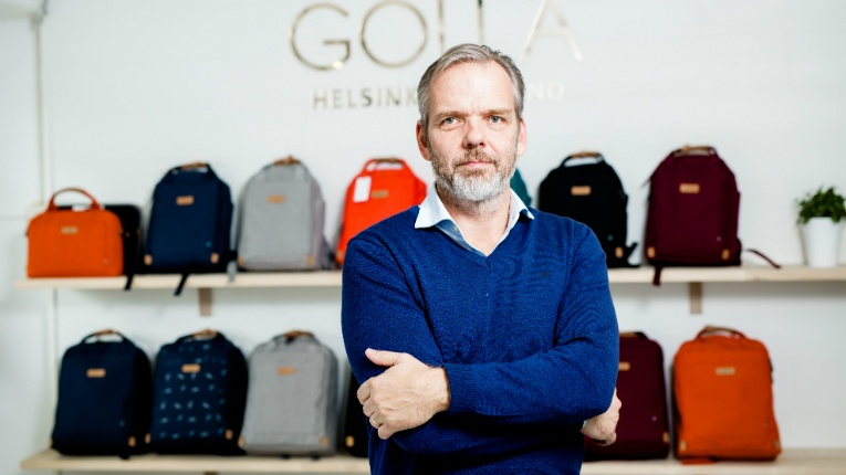 Golla founder and CEO Petri Kähkönen has been in charge of the company throughout its eventful history.