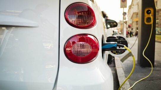 The electric car charging service is a practical example of electricity on demand.
