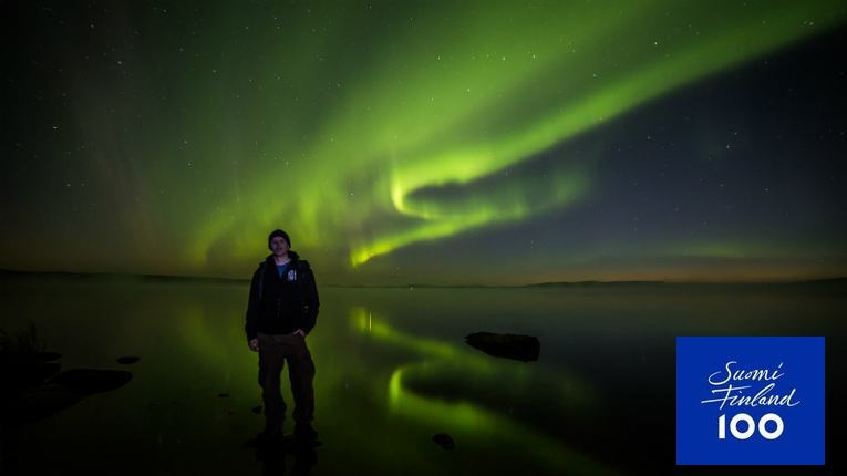 Now we're talking! Beyond Arctic founder Juho Uutela has seen it all when it comes to Northern Lights.