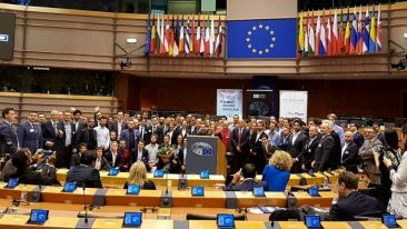 The winners were announced at the European Parliament in Brussels.