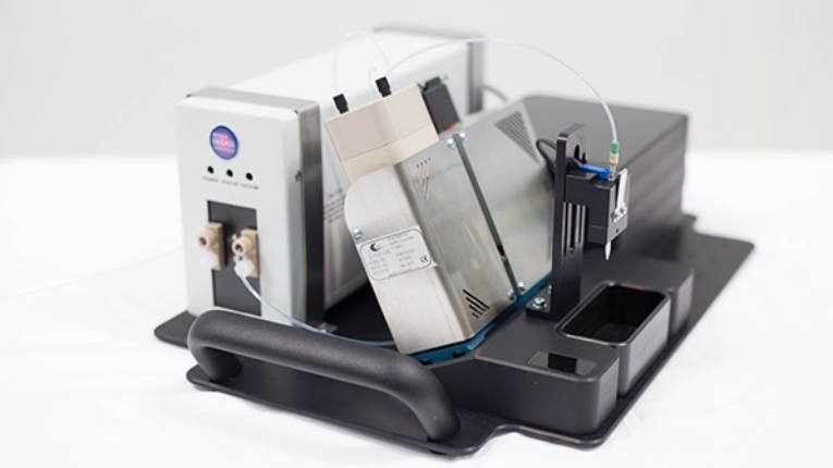 The PMB starter kit complete with Ginolis' highly accurate dispensing pump is targeted as an easy-to-use solution for academic and R&D environments.