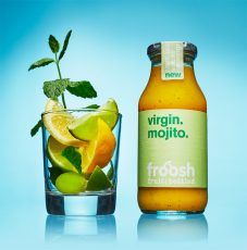 Froosh's smoothies are made of 100 per cent natural fruit ingredients with no added sugar or preservatives.