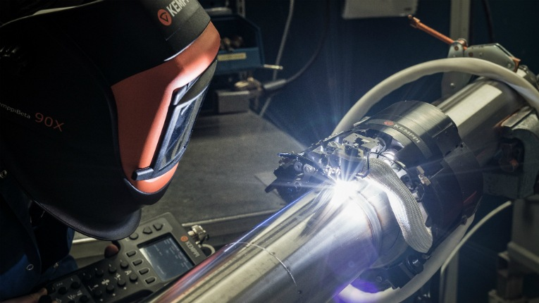 The centre is equipped with Kemppi's range of robotic welding equipment and robots.
